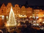 Новый год 2012 в замке Чехии!