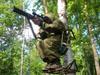 Лабаз самолаз для засидки на дереве
