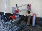 Сверление бетонных стен и перекрытий: алмазное бурение
