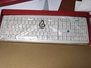 Клавиатура,  модель Genius KB-06(X/X2/XE) USB,  белая